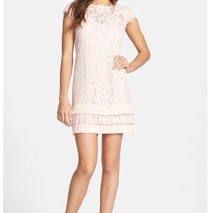 Jessica Simpson Lace Shift Dress - Size 2